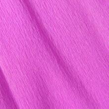 Papier crépon lilas 48g - 0.5cm x 2.5m (x1) REF/200002424