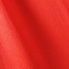 Papier crépon rouge vif 48g - 0.5cm x 2.5m (x1) REF/200002413