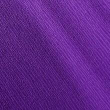 Papier crépon violet 48g - 0.5cm x 2.5m (x1) REF/200002425