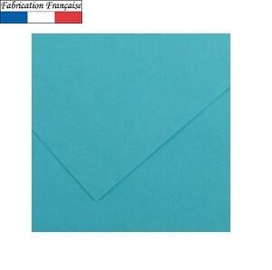 Papier vivaldi 185gm a4 bleu turquoise