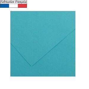 Papier Vivaldi A4, 185g/m²: Bleu turquoise (x50) REF/200040170