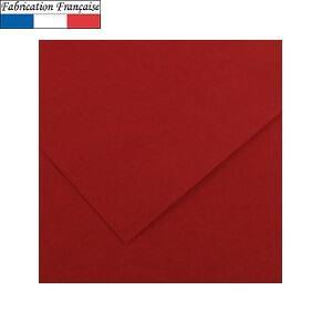 Papier Vivaldi A4, 185g/m²: Grenat (x50) REF/200040163