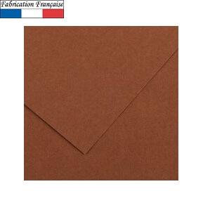 Papier vivaldi 185gm a4 chocolat