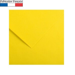 Papier vivaldi 185gm a4 jaune