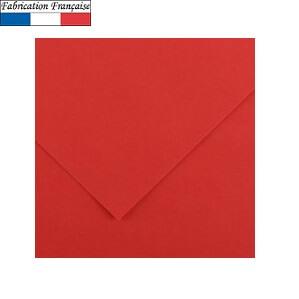 Papier vivaldi 185gm a4 rouge