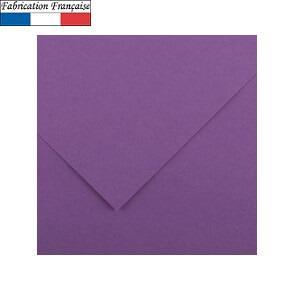 Papier Vivaldi A4, 185g/m²: Violet (x50) REF/200040165