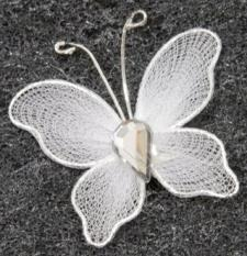 Papillon blanc (x10) REF/MT880