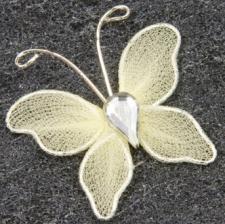 Papillon ivoire (x10) REF/MT880