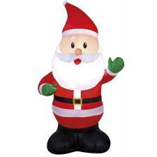 Père Noël gonflable et lumineux en location pour votre fête (x1) REF/EV-428