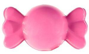 Perle bonbon avec perforation: Fuchsia (x12) REF/70317
