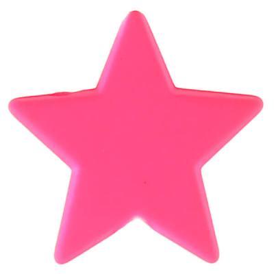 Perle étoile fuchsia (x12) REF/4357