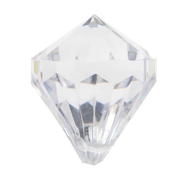 Perle pampille diamant transparente