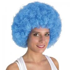 Perruque adulte Afro Willy: Bleu (x1) REF/64463