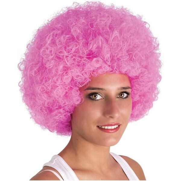 Perruque afro willy rose pour fete