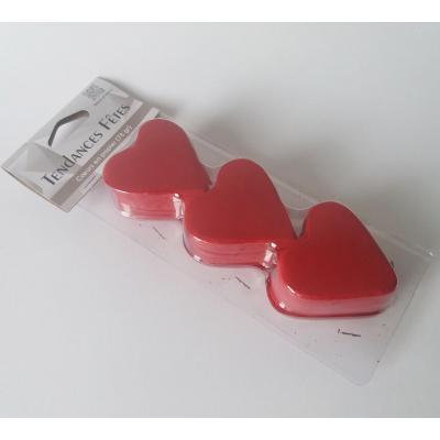 Confettis mariage coeur rouge (x75gr) REF/DEC538
