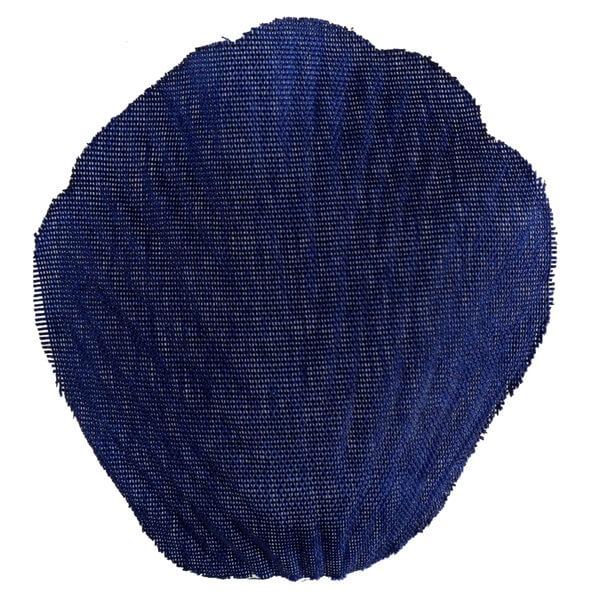 Petale de rose bleu marine en tissu