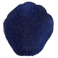 Pétale de rose bleu marine en tissu (x100) REF/2868
