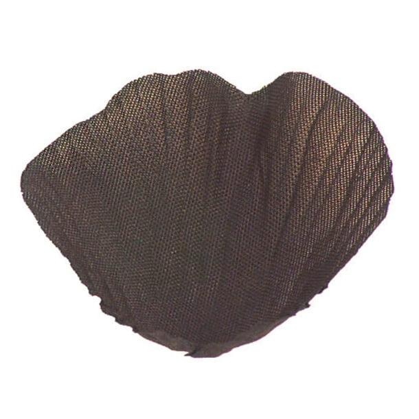 Petale de rose chocolat en tissu