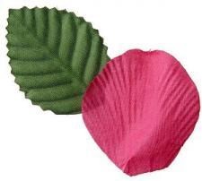 Pétale de rose fuchsia (x100) REF/2868