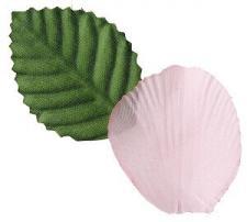 Pétale de rose rose (x100) REF/2868