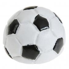 Petit ballon de football noir et blanc (x6) REF/4140