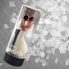Canon à confettis mariage, 10.5cm (x3) REF/CONF001