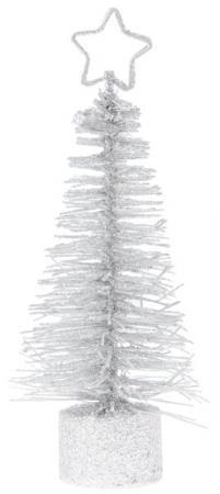 Petit sapin de Noël blanc (x2) REF/4087