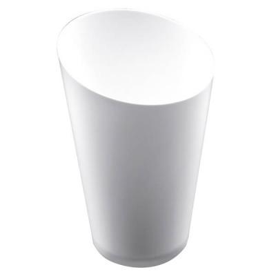 Verrine: Petit verre blanc conique haut 7.5cl (x25) REF/56005