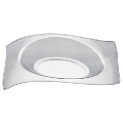 Verrine: Petite assiette plate transparente 1.5cl (x50) REF/56014