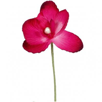 Orchidée fuchsia (x6) REF/2867