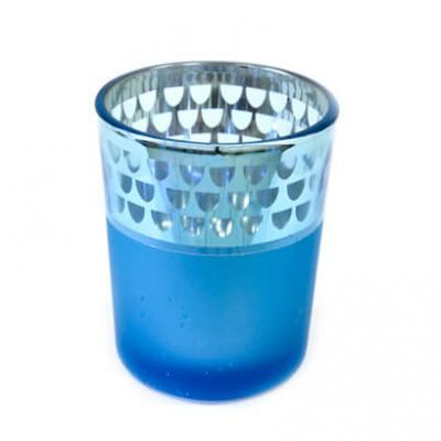 Photophore bleu turquoise (x1) REF/VER5010