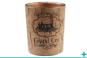 Photophore en verre pour bougie decorative