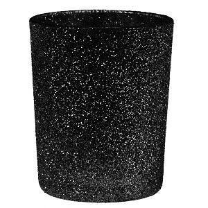 Photophore pailleté noir (x1) REF/5355
