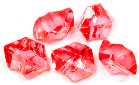 Pierre cristal rouge