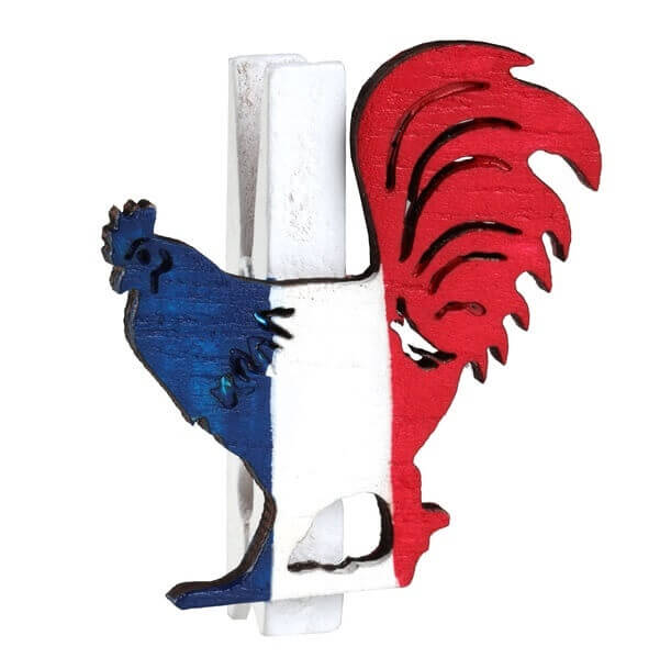 Pince coq tricolore france