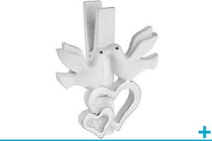Pince decorative mariage et st valentin pour loisir creatif