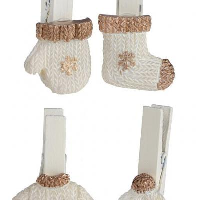 Pince hiver or (x4) REF/5533