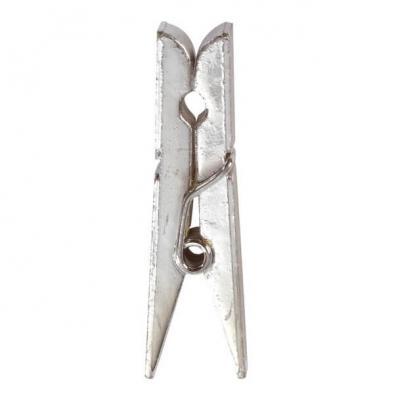 Pince en bois laquée, 3.5cm (x12) REF/3355