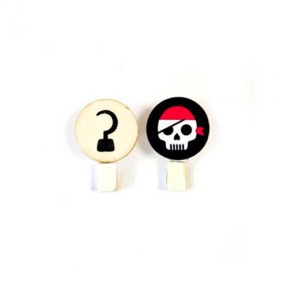 Pince pirate (x6) REF/DEC676