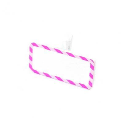Ardoise sur pince rose (x6) REF/MT957