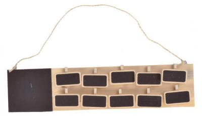 Plan de table rectangle (x1) REF/3433