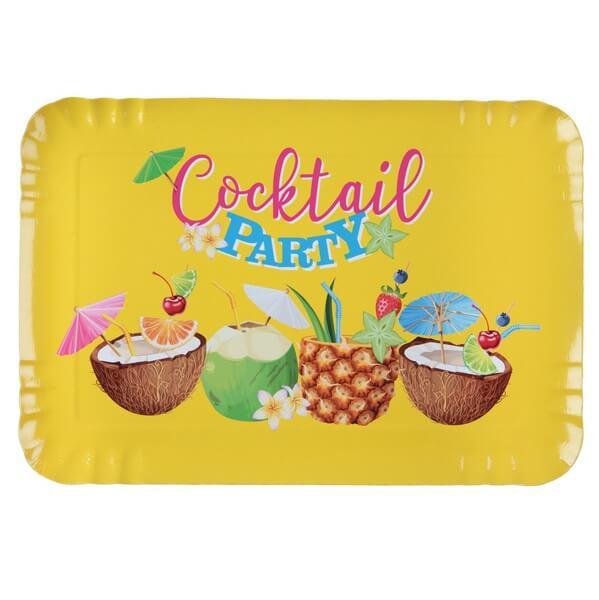 Plateau cocktail tropical