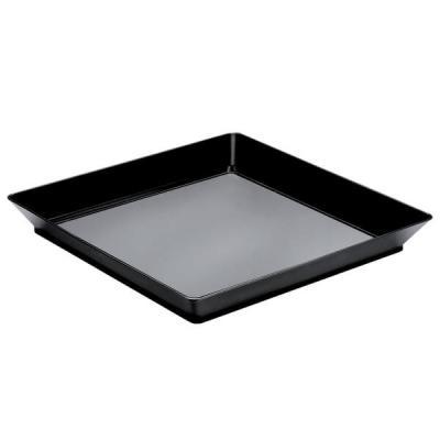 Plateau noir 13cm (x12) REF/56011