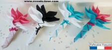 Pliage de serviette: Fleur (x1) REF/10046