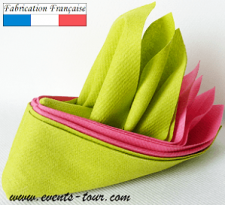 Pliage de serviette Airlaid oiseau tropical (x1) REF/10053