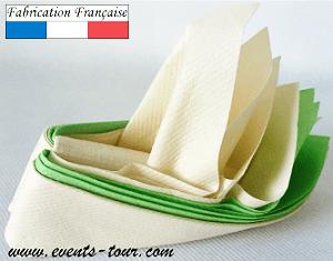 Pliage de serviette bateau 2
