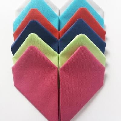 Pliage de serviette mariage: Coeur (x1) REF/10040
