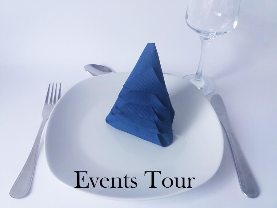 pliage de serviette no l sapin bleu marine x1 ref 10458. Black Bedroom Furniture Sets. Home Design Ideas