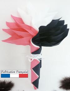 Pliage de serviette: Fleur (x1) REF/10057