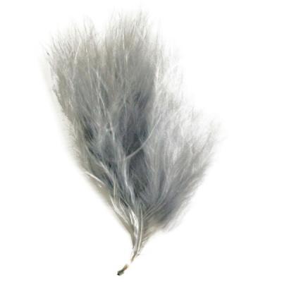 Plume de couleur grise (x20) REF/2571